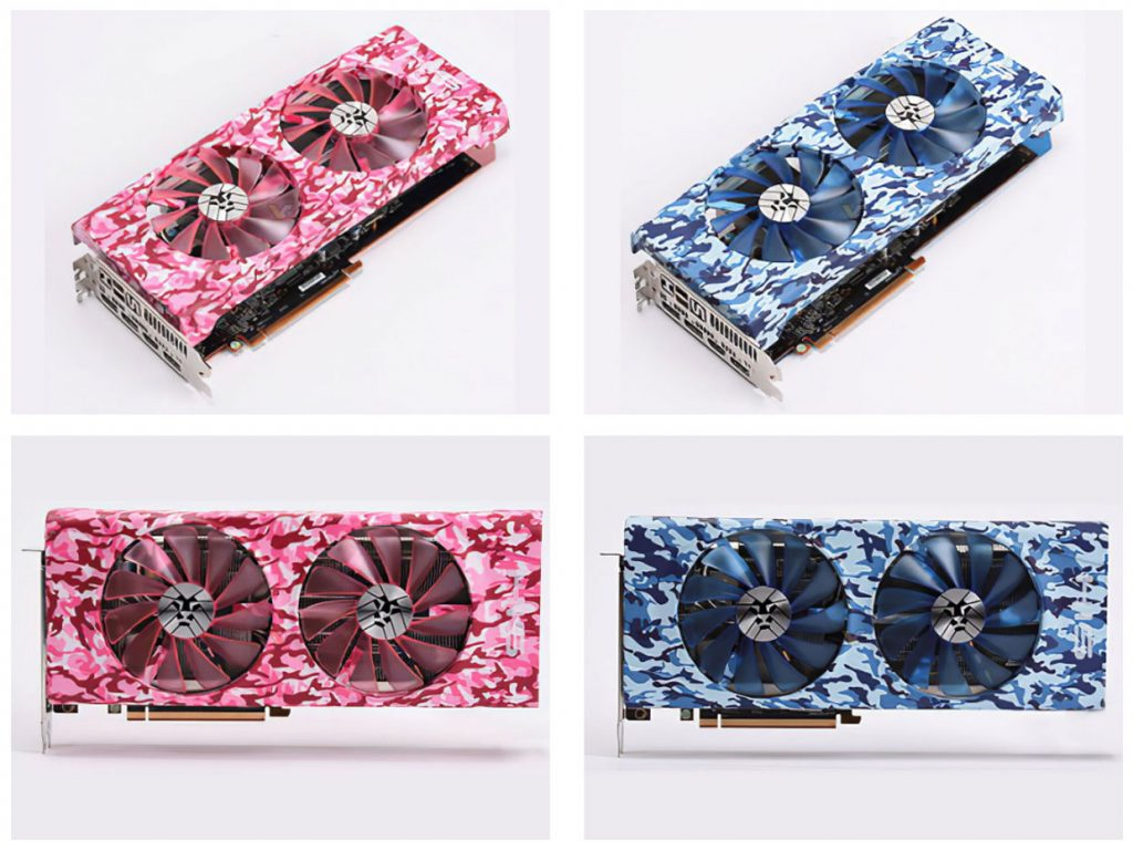 Radeon RX 5700 XT Pink and Blue Army de HIS