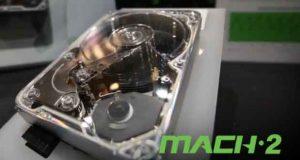 Seagate - Technologie Mach.2 en action
