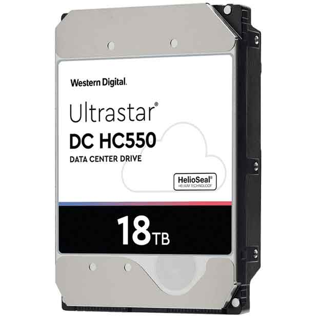 Disque dur Western Digital Ultrastar DC HD550 18 To