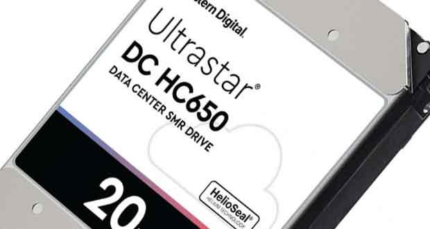 Disque dur Western Digital Ultrastar DC HC650 20 To