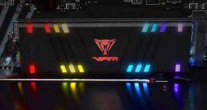 SSD Patriot M.2 NVMe Viper VPR100 RGB