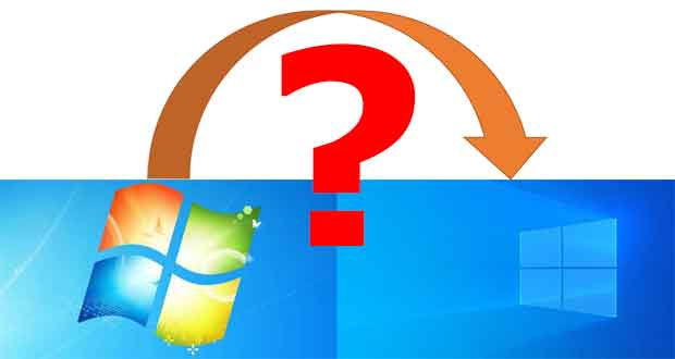 Windows 7, comment mettre à niveau son PC vers Windows 10 ?