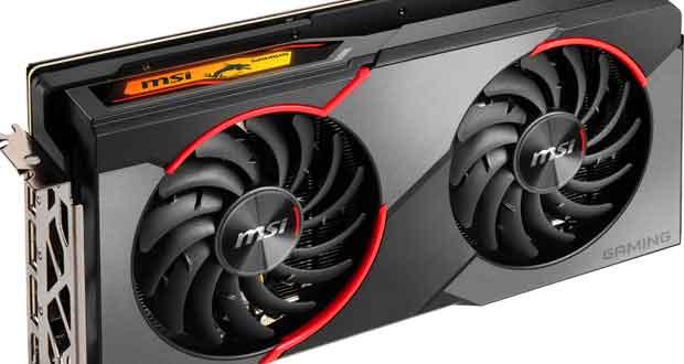 La Radeon RX 5500 XT Gaming series de MSI