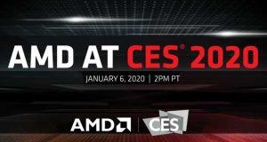 AMD, conférence CES 2020