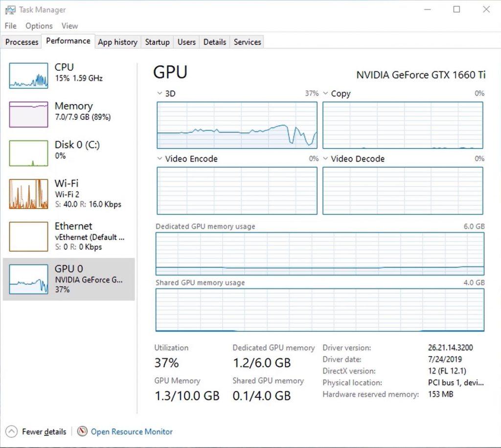 Windows 10 - GPU performance