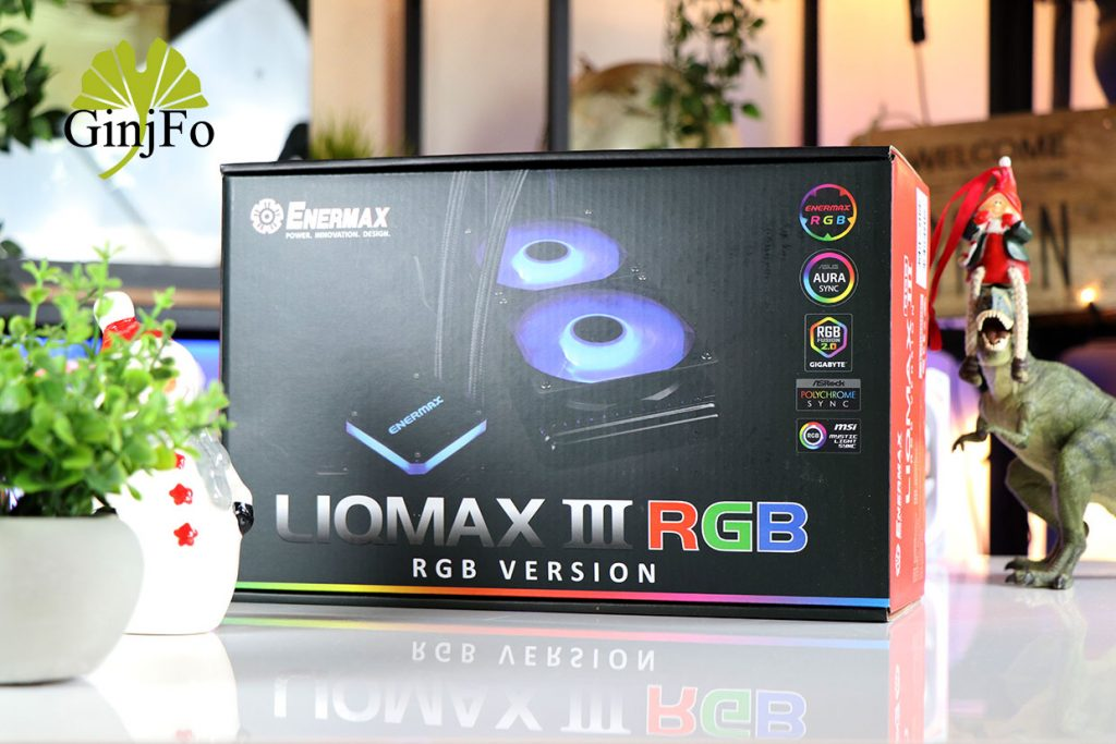 Watercooling AIO LiqMax III RGB 240 (ELC-LMT240-RGB) d'Enermax