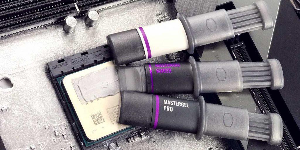 Tubes de pâte thermique MasterGel Regular, Maker et Pro de Cooler Master
