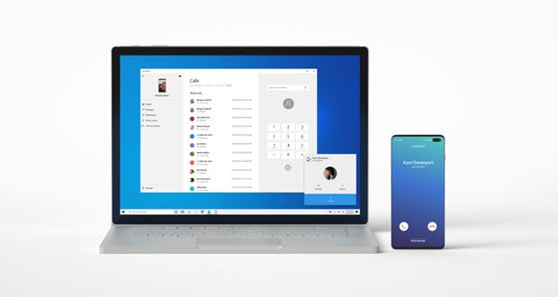 Windows 10 et l'application Mon téléphone