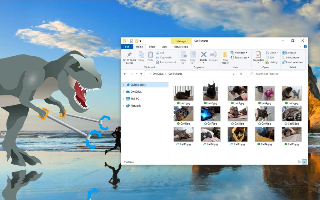 Windows 10 - OneDrive Files On-Demand