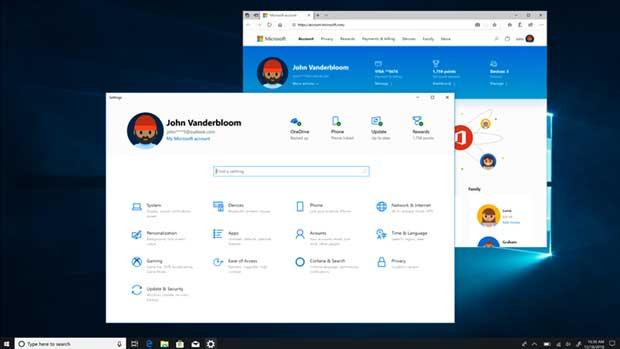 Windows 10 de Microsoft - Paramètres