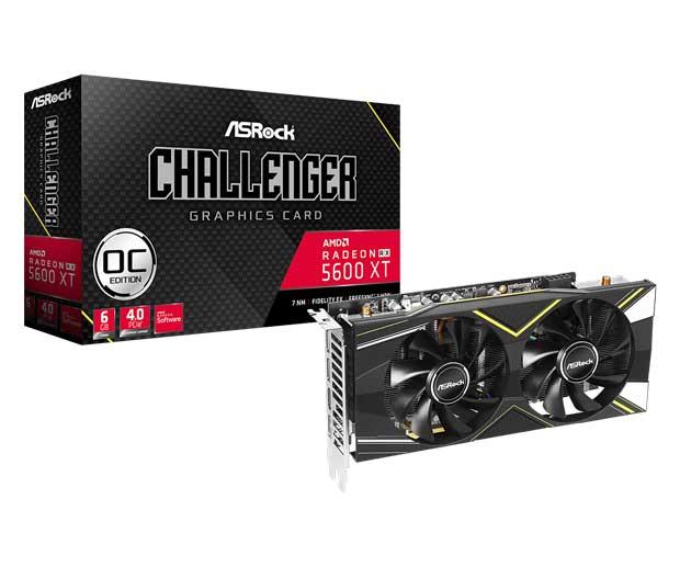Radeon RX 5600 XT Challenger D 6G OC
