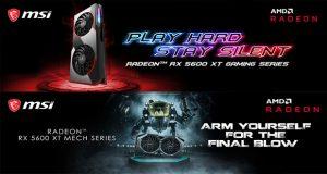 Radeon RX 5600 XT MECH et Gaming series de MSI