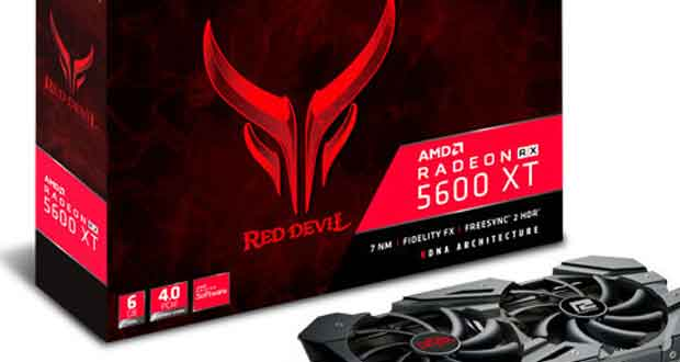 Radeon RX 5600 XT Red Devil de PowerColor