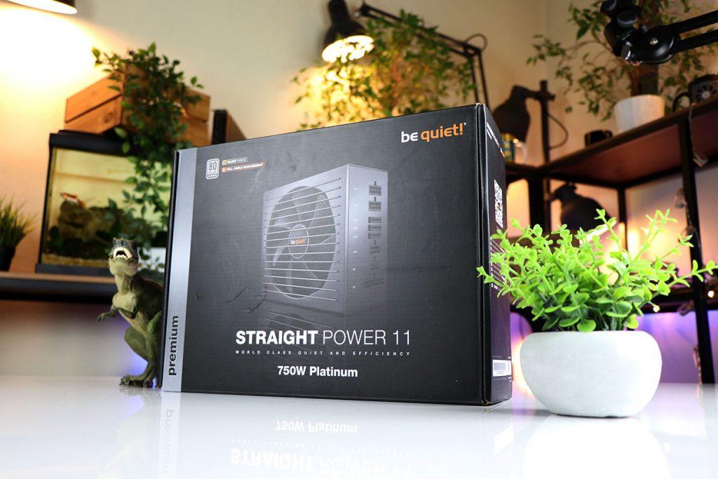 Alimentation Straight Power 11 Platinum 750W de Be Quiet