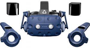Le casque de réalité virtuelle VIVE Pro Full Kit