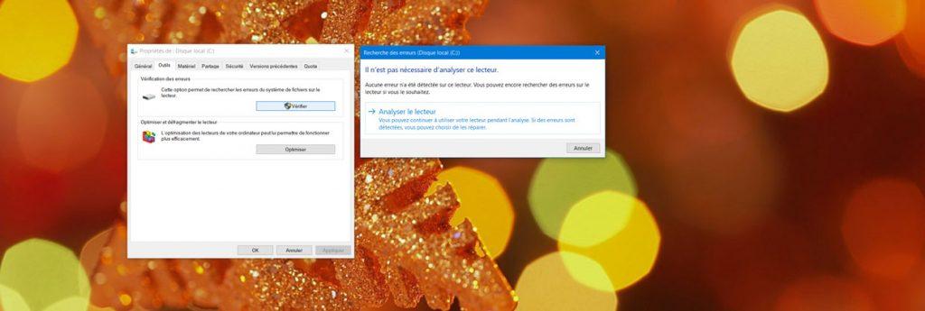 Windows 10 - Outil de recherche de fichiers corrompus