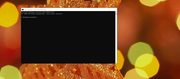 Windows 10 et l'invite de commande