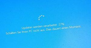 Windows 10 et Windows Update, l'installation de mises à jour peut demander beaucoup de temps