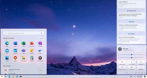 Windows 10 v2004, un concept design propose une interface Windows 10X avec une touche « KDE »