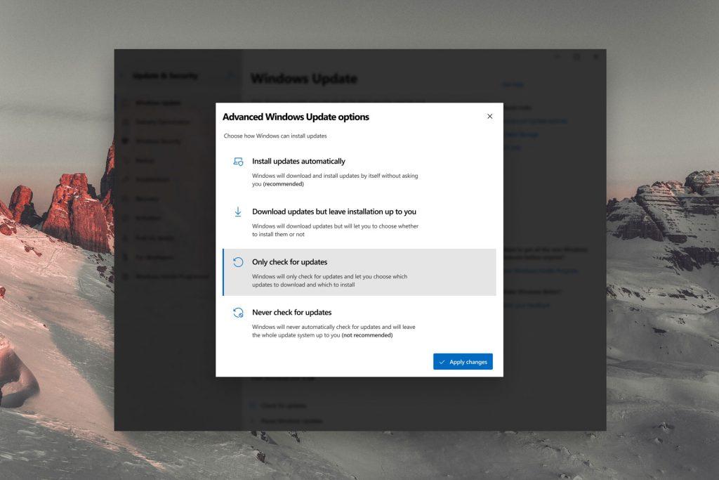 Windows 10, concept « Windows Update »