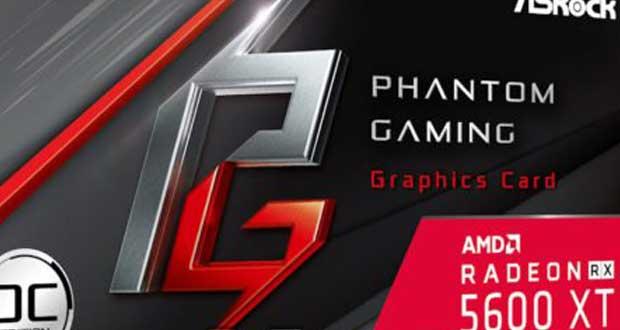 La Radeon RX 5600 XT Phantom Gaming OC Edition d'ASRock