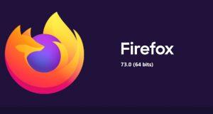 Navigateur Firefox 73 de Mozilla