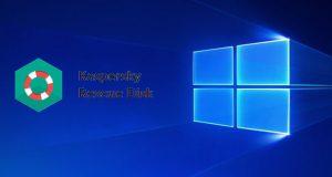 Kaspersky Rescue Disk et Windows 10