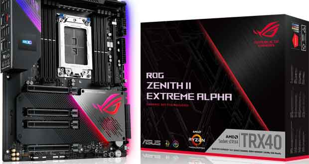 Carte mère Asus ROG Zenith II Extreme Alpha