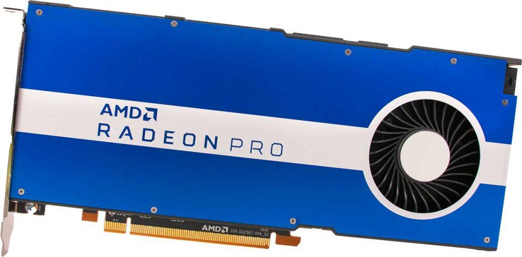 Carte graphique AMD Radeon Pro W5500