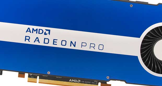 Carte graphique AMD Radeon Pro W5500