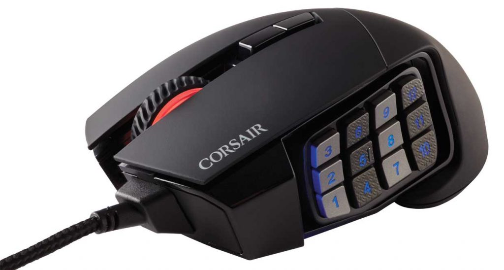 Souris gaming Scimitar RGB Elite de Corsair