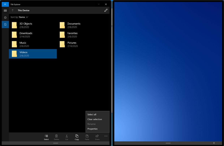 Microsoft promet que les mises à jour sur Windows 10X prendront