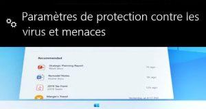 Windows 10X et Windows Defender