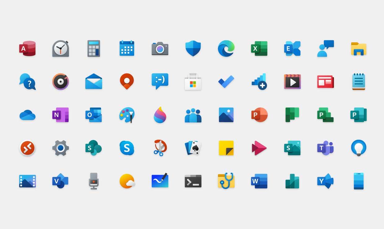 Microsoft dévoile 55 nouvelles icônes pour Windows 10