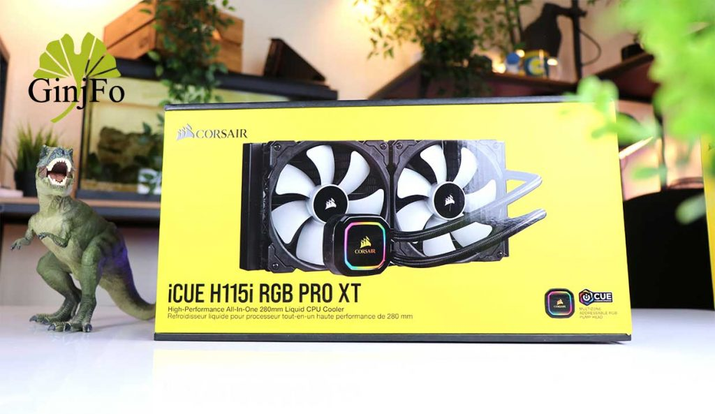 Watercooling AIO iCue H115i RGB Pro XT