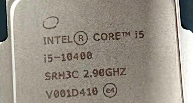 Processeur Core i5-10400 d'Intel