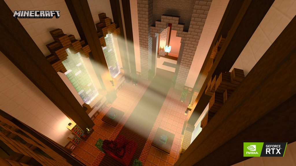 Minecraft et la technologie Ray-Tracing