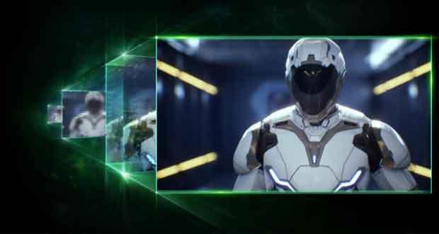 Technologie DLSS 2.0 de Nvidia
