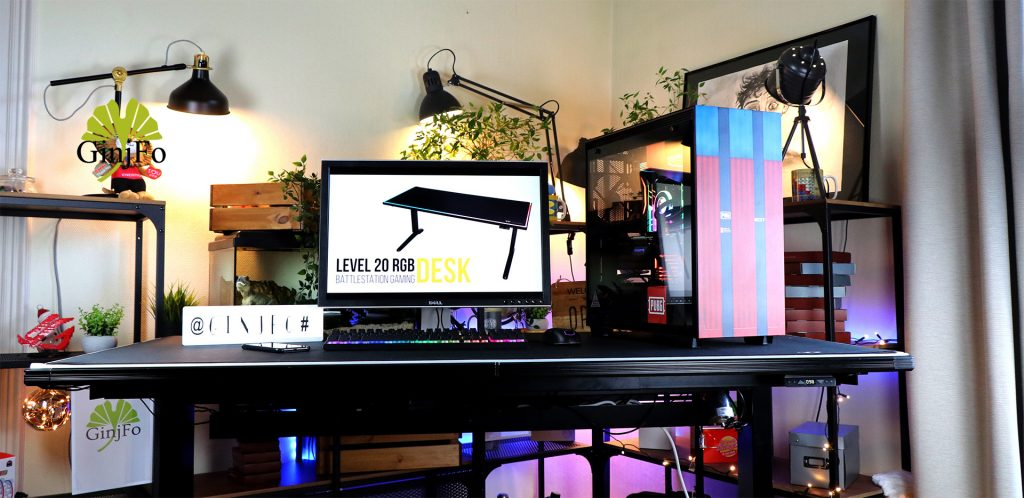 Bureau gaming Level 20 BattleStation RGB Gaming Desk de Thermaltake