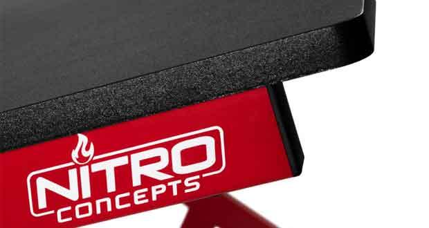 Bureau gaming D12 de Nitro Concept