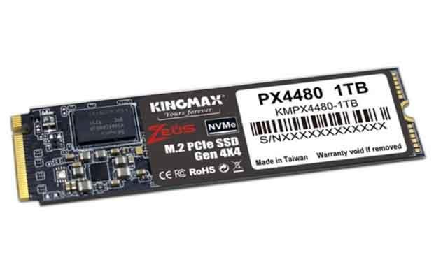 SSD PX4480 M.2 NVMe PCIe Gen 4 x4 de KingMax