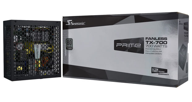 Alimentation Prime Fanless TX-700 de SeaSonic