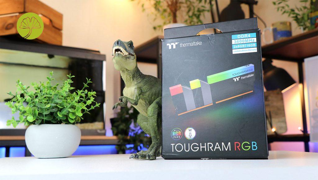 TOUGHRAM RGB Memory DDR4 3600MHz 16GB (8GB x 2), référence R009D408GX2-3600C18B