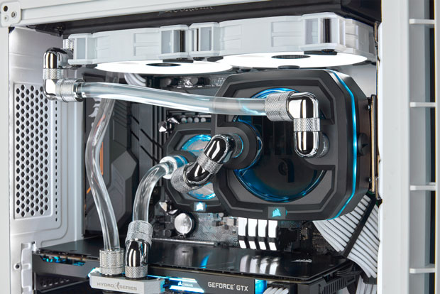 Composants White Edition (Watercooling DIY) de Corsair