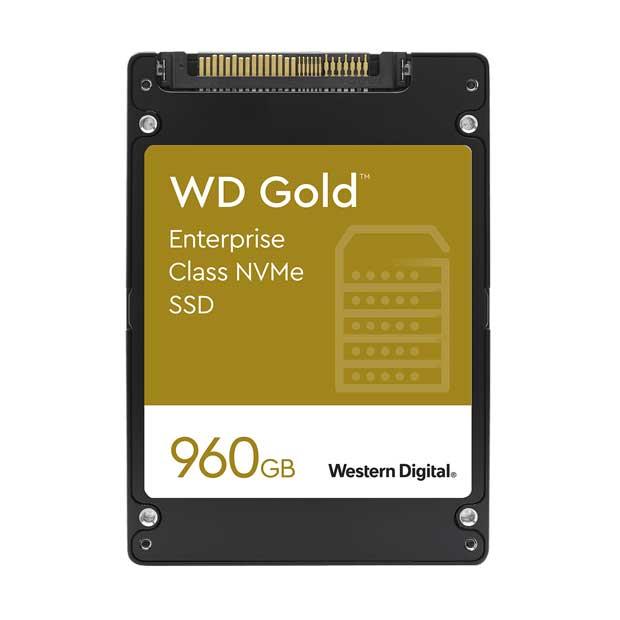WD Gold SSD NVMe de Western Digital