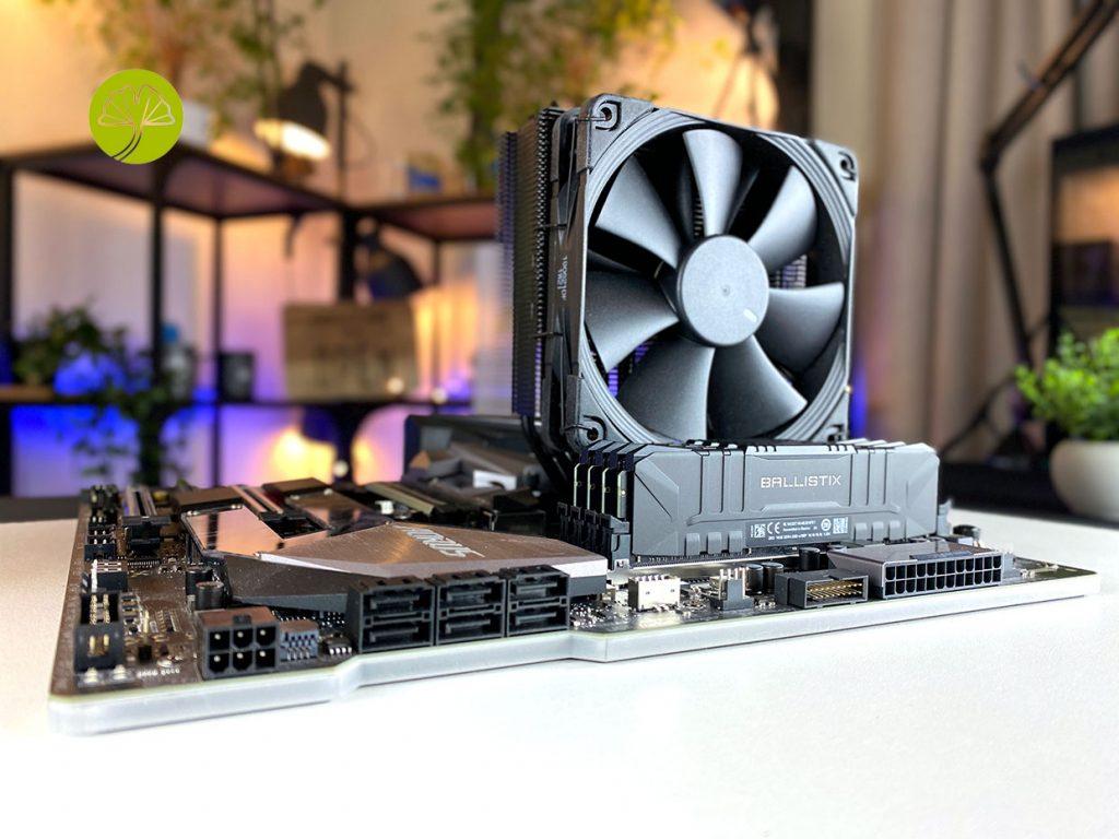 Kit 4 x 16 Go Ballistix Black DDR4-3200