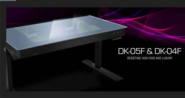 Bureaux gamers DK-05F et DK-04F de Lian Li