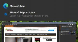 Microsoft Edge 81