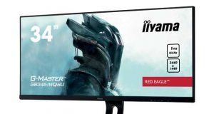 Moniteur gaming Iiyama G-MASTER GB3461WQSU-B1 Red Eagle