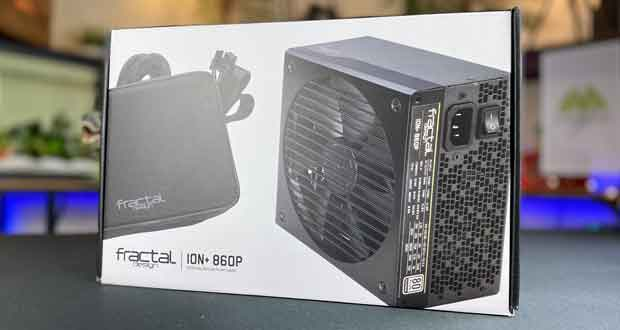 Alimentation ION+ 860P de Fractal Design